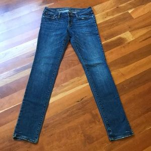 Bullhead Hermosa Dark Wash Skinny Jeans Long